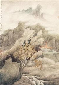 云天夏色 (landscape) by xu xinrong