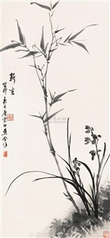 bamboo and orchid by tang yun and bai jiao