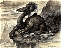 drachen - groteske by curt grosspietsch
