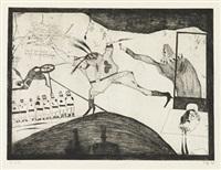 diplomatengeschenk (claus störtebeker) by horst janssen