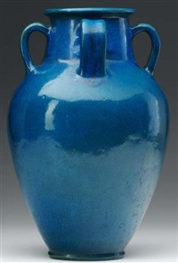 large four-handled vase by arthur e. baggs