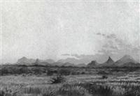 südafrikanische landschaft by axel francis zeraava eriksson