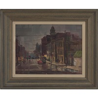 street scene by lowell ellsworth smith