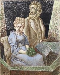 senza titolo - figure by alberto savinio