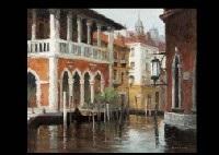 landscape in venezia (+ flower; 2 works) by akira uchida