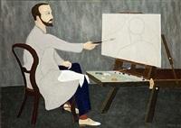 autoportrait by arthur hurni