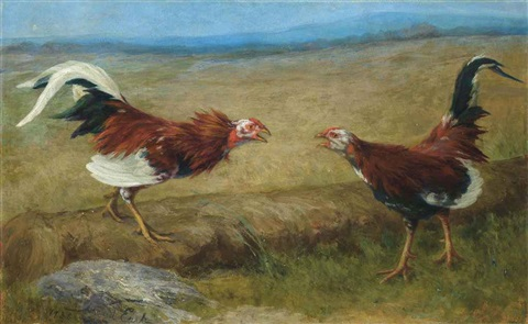 the cock fight by david east