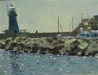 giglio porto, isola del giglio by ken howard