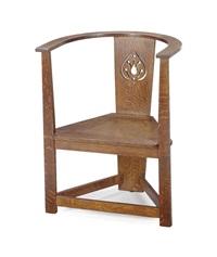 armchair by mackay hugh baillie scott