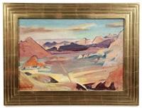 western landscape by carl sprinchorn