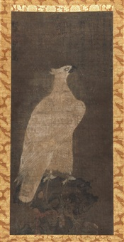 白鹰图 (white eagle) by emperor huizong
