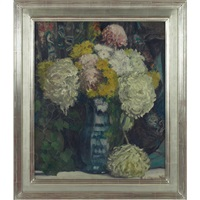 floral still life by everett lloyd bryant