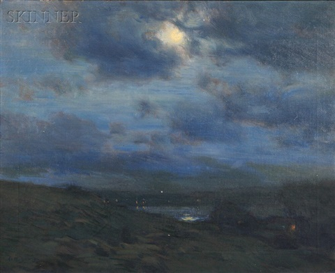 moonlight on the coast by charles harold davis