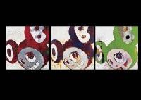 and then, and then and then and then and then (+ 2 others; 3 works) by takashi murakami
