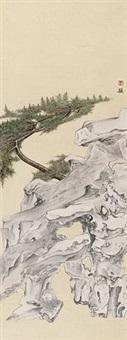 园林一角 by luo ying