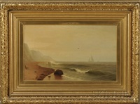 coastal seascape by frank knox morton rehn