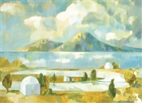 carthage tunis (+ 1 other; 2 works) by peter todd mitchell