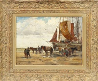 dutch coast by anthony thieme
