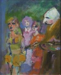 pittore e modelle by mino maccari