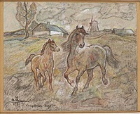 hästar i kongstrup by acke aslund