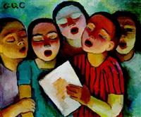 singende kinder by grete csaky-copony