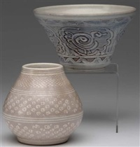 two vases by arthur e. baggs