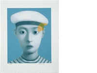 my dear friends (7 works) by zhang xiaogang