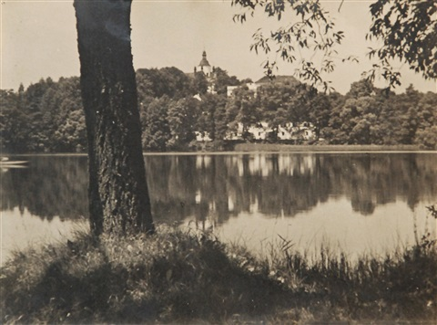 pond hejtman (chlum at třebon) by josef sudek