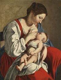 madonna mit kind by orazio gentileschi