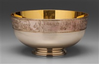 bowl by franklin mint