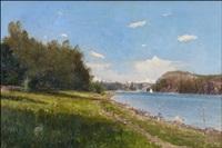 kesäpäivä järvellä (sommardag på sjön) by alfred thörne