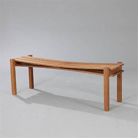 swallow bench by jens jacob olesen