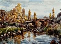 paisaje fluvial by vicente pastor calpena
