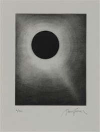 penzance eclipse (2 works) by james turrell