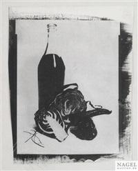 stillleben mit flasche by maurice tabard