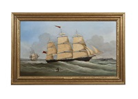 a ship in belfast lough by joseph semple