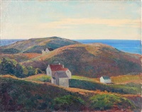 monhegan hills by george g. adomeit