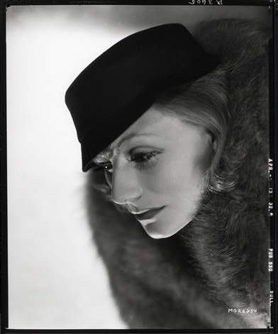 Greta Garbo Camera Negative From Grand Hotel By Clarence Sinclair Bull On Artnet
