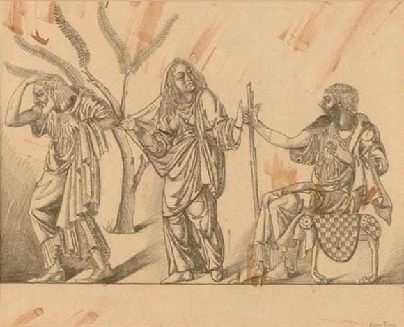 illustrazione per la piccola chelidonio by achille funi