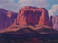 western landscape by joe waano-gano