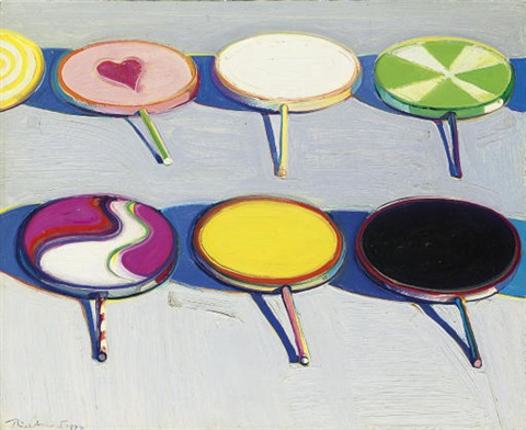 seven suckers by wayne thiebaud