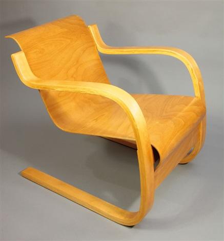 sessel alvar aalto 3241 by alvar aalto on artnet. Black Bedroom Furniture Sets. Home Design Ideas