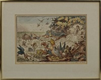 a great stream from a petty-fountain by james gillray