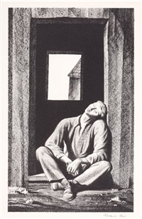 resting by rockwell kent