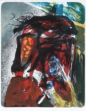 untitled (from von kopf bis fuss) by asger jorn