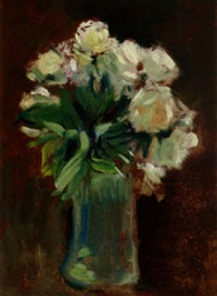 floral still life by zivko zic