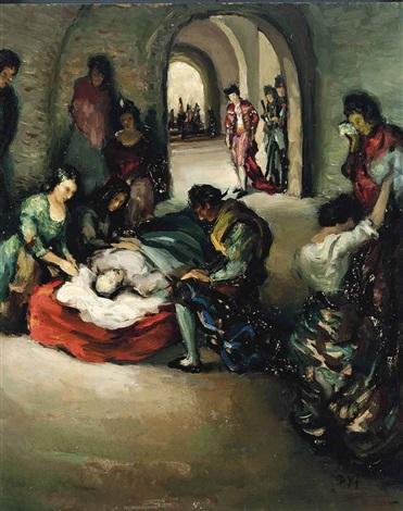 mort du torero by marcel dyf