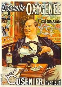 l'absinthe oxygénée, c'est une santé cusenier l'inventeur by francisco tamagno