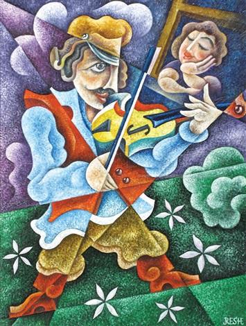 the violinist by shaked reznikov