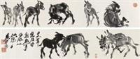 十驴图 by huang zhou